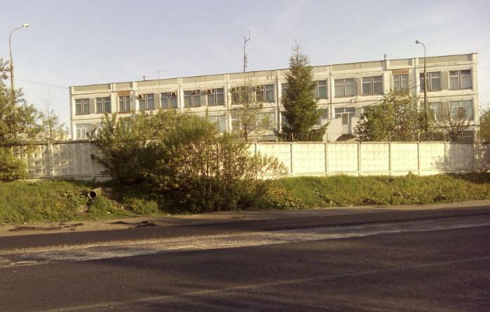 Вид здания фмс Косино-Ухтомский