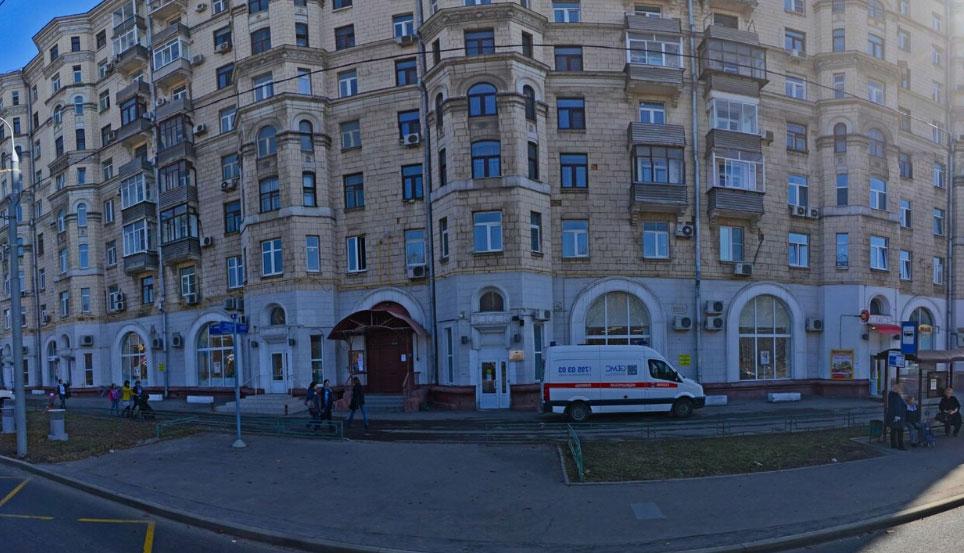 вид здания фмс Хорошевский р-н