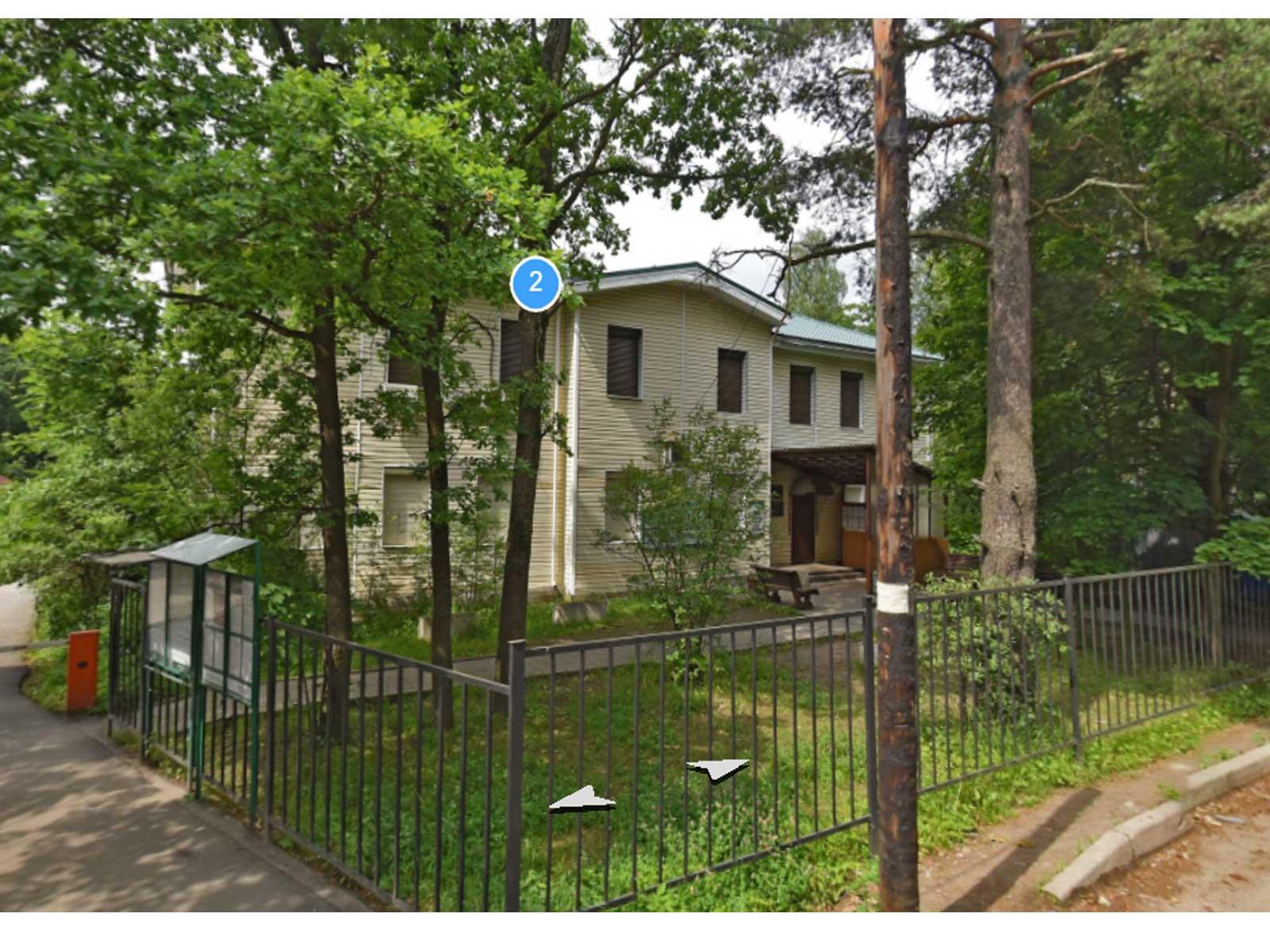 Вид на здание УФМС по Всеволожскому району, Санкт-Петербург