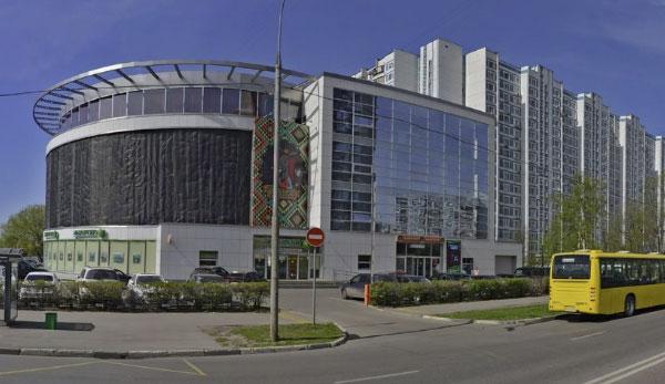 Вид здания фмс Крылатское