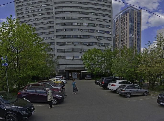 вид здания фмс Фили-Давыдково