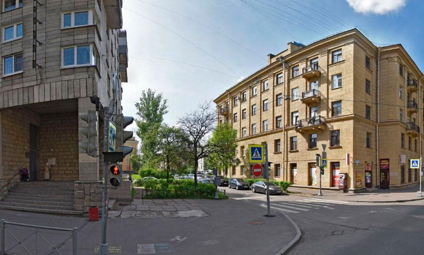 вид здания фмс Красногвардейского района СПБ