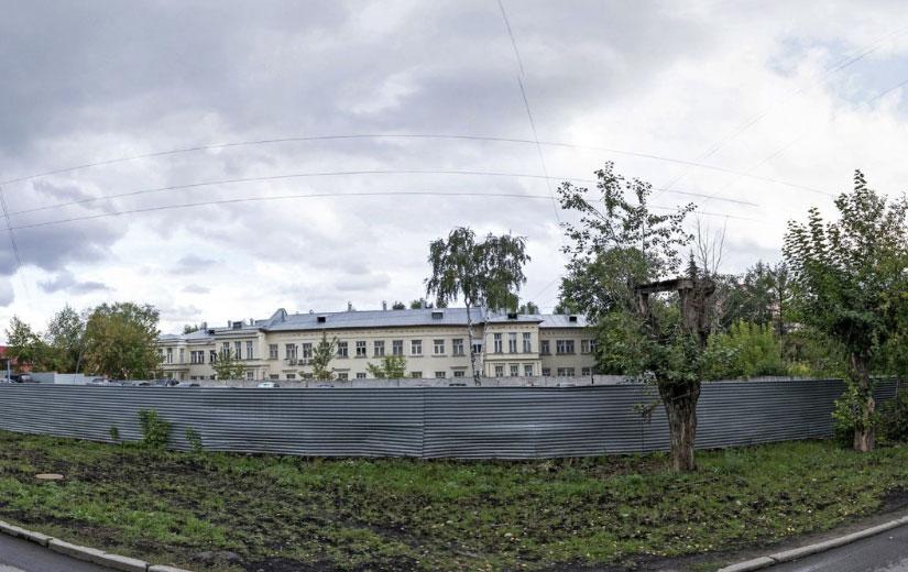 Вид на здание уфмс Верх-исетского района екатеринбурга