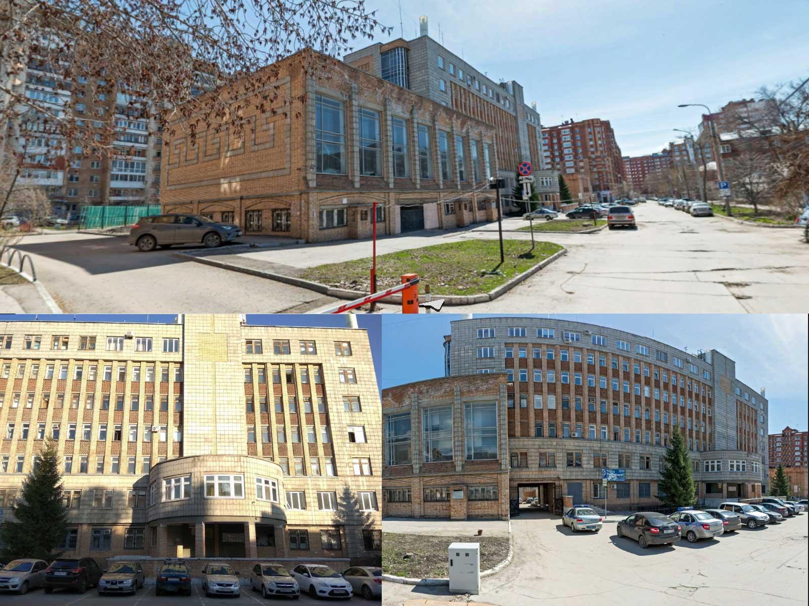 Вид на здание УФМС по Ленинскому району, Самара