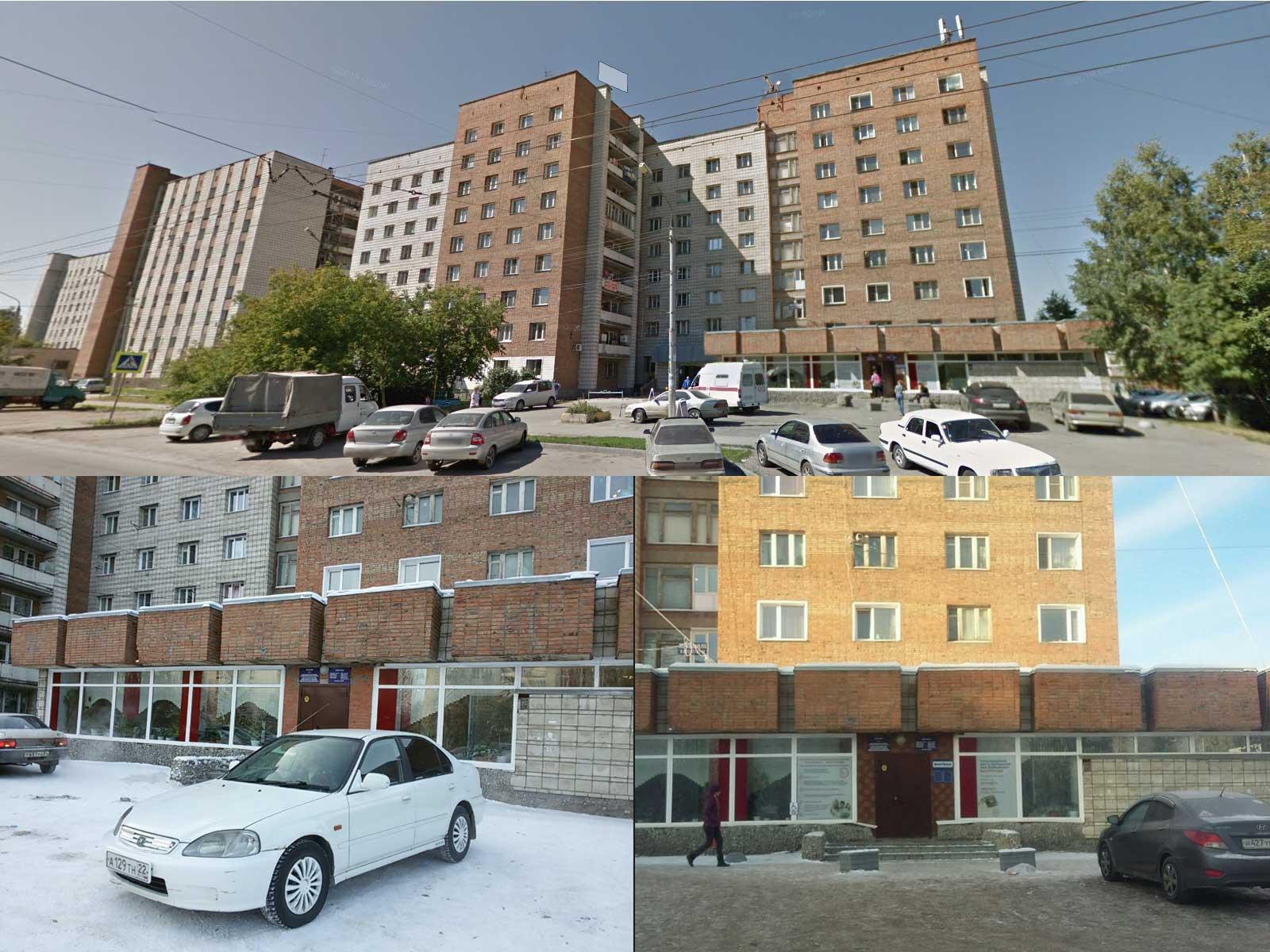 Вид на здание УФМС по Кировскому району, Новосибирск