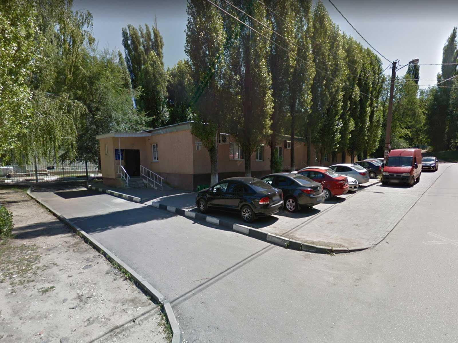 Вид на здание УФМС по Советскому району, Воронеж