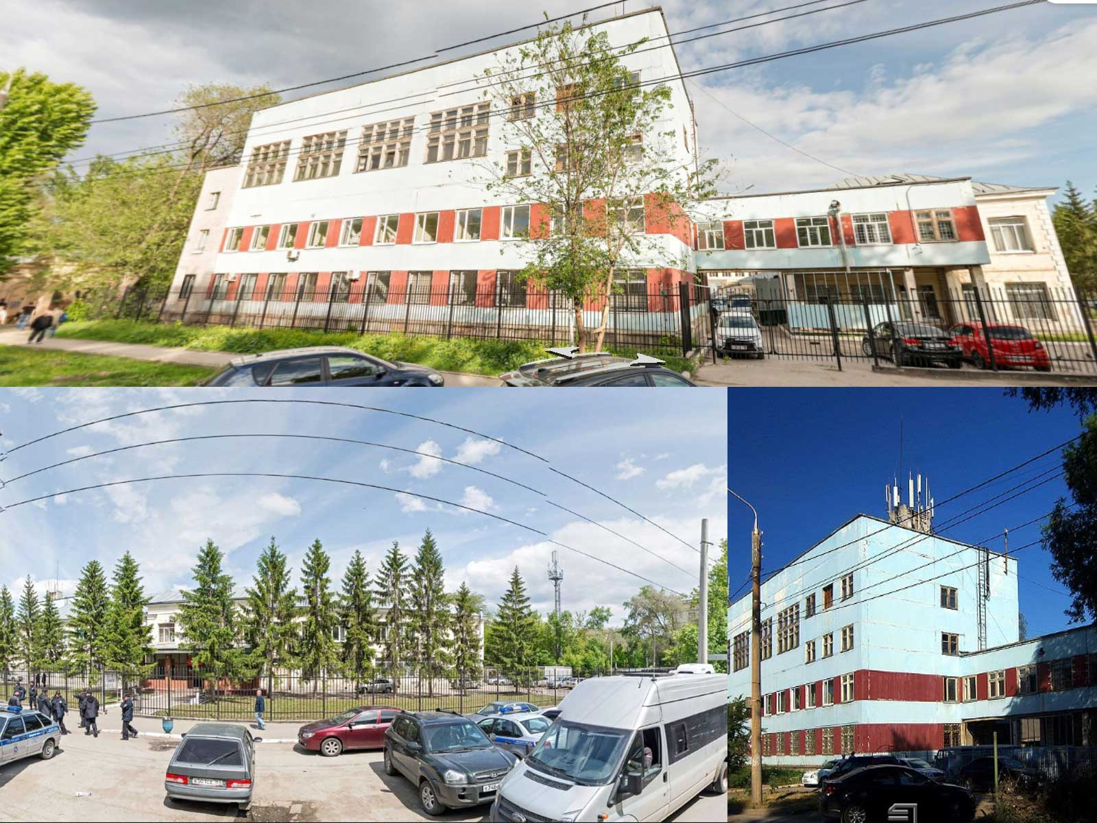 Вид на здание УФМС по Промышленному району, Самара
